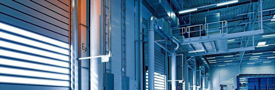 Повдигащи се индустриални врати